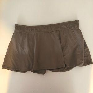 Anne Cole Taupe Swim Skirt